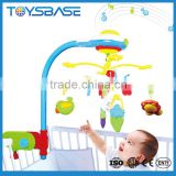 Best gift for newborn music eco-friendly plastic baby crib mobile