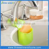 Hanging Silicone Soap Holder for Dishing