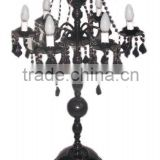 wrought iron wedding candelabra, decorative wedding candelabra, wedding centerpiece candelabra