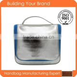China wholesale 2015 new product for fashion women glitter Pu cosmetic bag