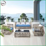 New outdoor sofa / synthetic rattan sofa / cheap outdoor wicker furniture rattan sofa / outdoor wicker sectional sofa l shaped