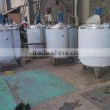 mixing tank for liquid soap/shampoo making machine