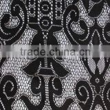 100%Nylon Bonded Lace Fabric