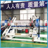 CNC vertical 4 point upvc windows welding machine