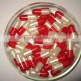 Health products empty color capsules free smple