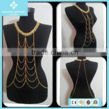 Gold Filled Body Belly Chain Jewelry Factory