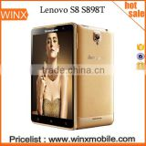 Wholesale Best price Lenovo S8 S898t MTK6592 Octa Core 5.3 inch Android 4.2 2GB RAM 16GB ROM 13MP Mobile Phone