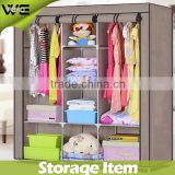 DIY modern design bedroom furniture wardrobe/ children assemble fabric wardrobe designs of bedroom