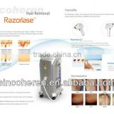 2016 new arrival advanced beauty equipment diode laser for permanent hair removal,pigment & mole & birthmark removal