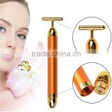 Energy Facial Massage 24k Pure Gold Vibration Beauty Bar