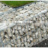Galvanized welded gabion box stone cage
