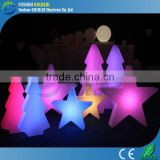 Decorative Plastic Star With Light