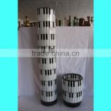 80CM Tall Piano Pattern Design Handmade Colored Mosaic Art Glass Decorative Items