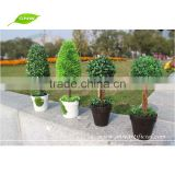 GP007 GNW Grass artificial topiary trees with plant pot for home interior and wedding decoration