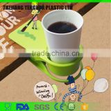 Factory Wholesale customize LOGO table coffee cup holder clip cup holder