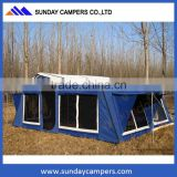 Off road folding camper australian style military camper trailer tent