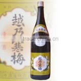 Natural sake koshinokanbai shiro 1800ml with Flavorful made in Japan