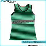 OEM Custome Sleeveless Lady Apparel Cotton Material
