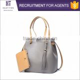 Fashion Women Genuine Top Cow Leather Travel Shoulder Bags Wholesale High Quality Big Size Shoulder Handbags For Ladies