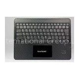 30 Pin USB Charge 5V Synaptics Touchpad IPad 2 Leather Case with Bluetooth Keyboard