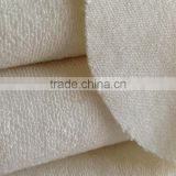 Hot Selling 80%bamboo/20%polyester bamboo loop terry fabric for 390gsm
