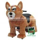 HI CE battery power zoo animal mechnical ride on horse for children,electric animal scooter ride on wheels