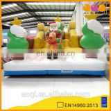 AOQI popular 2016 hot sell inflatable Santa sled fun city commercial inflatable fun city game for kids