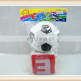 kids stuffed 4inch alphabet letter toy dice 5inch football toy
