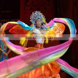 BestDance Colorful Hand Made Belly Dance special Long Fans Veils OEM
