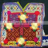 Afghan Tribal Kuchi dress Patches dress front