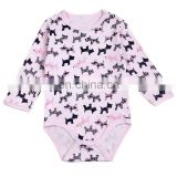 Wholesale baby clothes india infant clothes Baby girl cotton romper with long sleeve