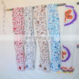 5 pcs wholesale lot pure Cotton Suzani Embroidered scarf Sarong Stole Muffler