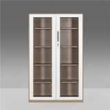 Steel Swing Glass Door Filing Storage Cabinet