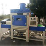 Conveying type automatic sand blasting machine