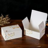 Tea paper good sale packaging box