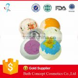 private label organic bath bomb bath fizz balls
