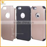 china supplier mobile hybrid combo hard back cover case for iphone 6                                                                                         Most Popular