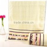 100% cotton China manufacturer Dobby massage towel/ cheap hotel towel