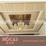 Leather walls panel panel wall decoration 3d wall decor wall paper of instead factory decorative ceiling and