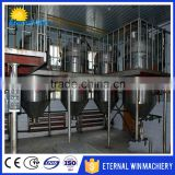 Turnkey project 1t-800t Sunflower cooking oil crude oil refinery plant vegetable oil deodorization machine                                                                         Quality Choice