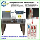 Semi-auto Ultrasonic Tube Sealing Machine for Plastic Tube Sealing of Toothpaste, Cleansing Foam