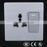 Beautiful design multiple socket-outlet , power outlet ce socket, pakistan electrical wall switch and outlet
