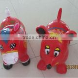 PVC jumping animal/jumping horse/jumping deer