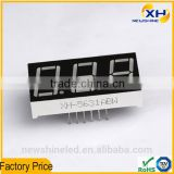 NEWSHINE Common Anode High Brightness Wholesale full color 0.56 Inch three digits led display