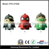 Rubber cartoon character oem logo cheap usb memory stick(PVC-CT828)