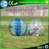 Cheap bubble balls pour le football inflatable sumo bumper ball bumperz bubble football                                                                                                         Supplier's Choice