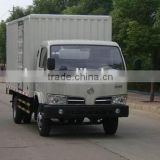 New generation China 5 ton dongfeng 4x2 mini cargo truck box