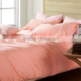 100% High Quality Cotton Plain Dyed Hotel Design Bedding Sets,Hotel Bed Linen,Hotel Textile Products