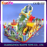 children play game inflatable ,inflatable fun park with slide,inflatable entertainment city