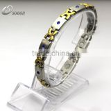 factory direct sell bracelet Charming bracelet with healthy energy Germanium , negative ion, Far IR, Magnets